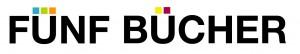 Fünf Bücher Logo einzeilig
